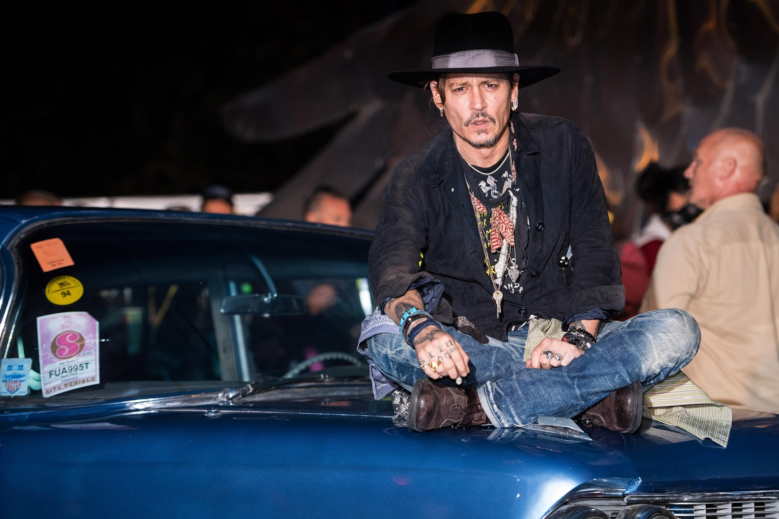 Johnny Depp lights Trump controversy at Glastonbury: 'When was the last time an actor assassinated a president'