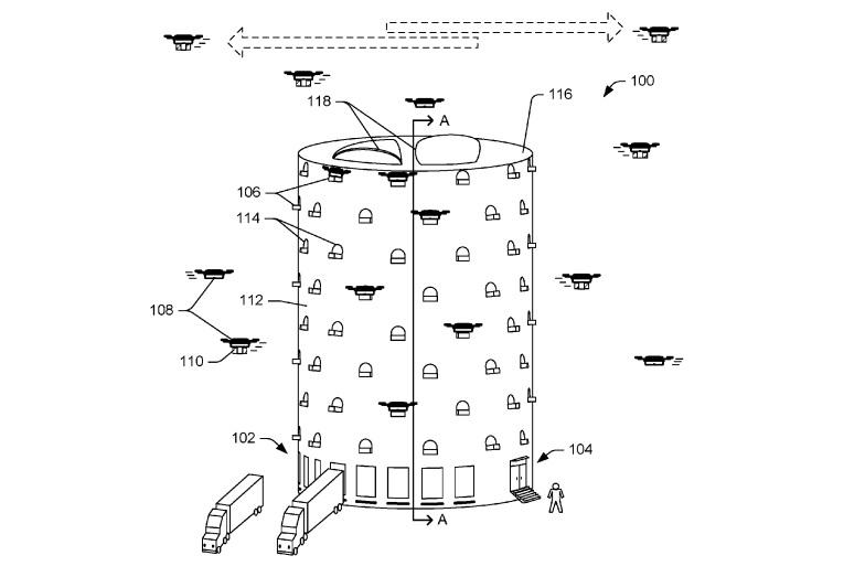 Amazon drone delivery centre
