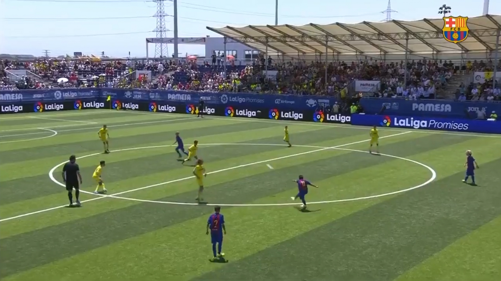 Watch Barcelona youngster score an outrageous wonder goal
