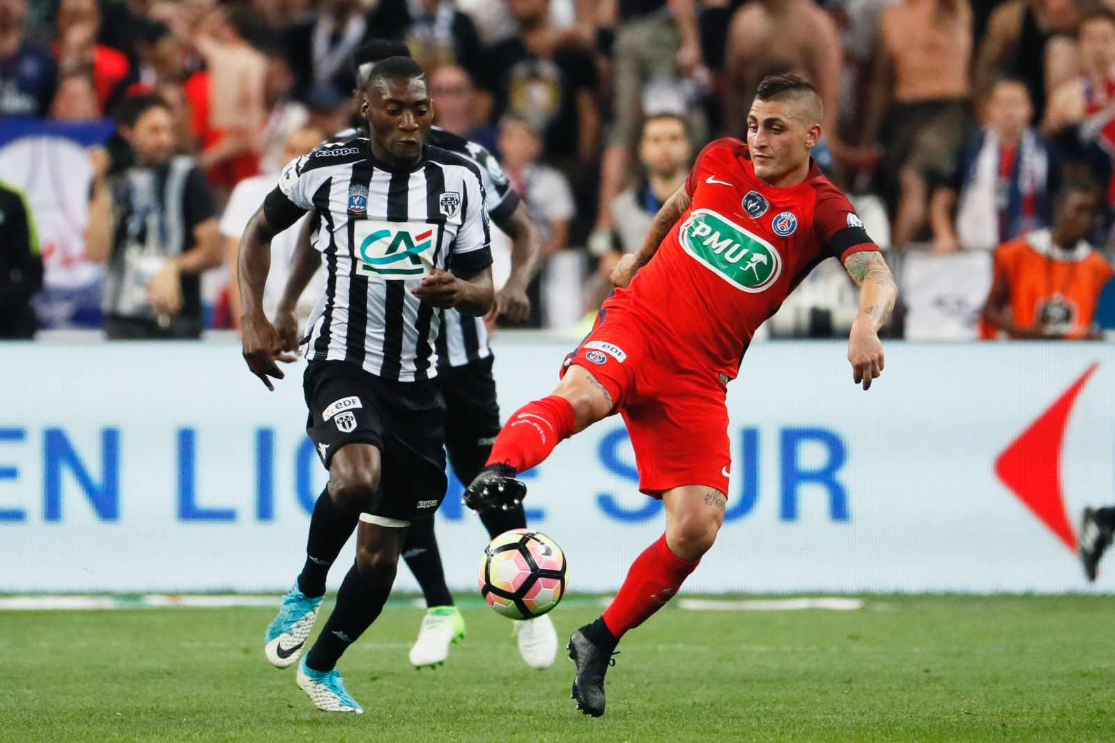 PSG ace Marco Verratti tells fans: I don't need to leave