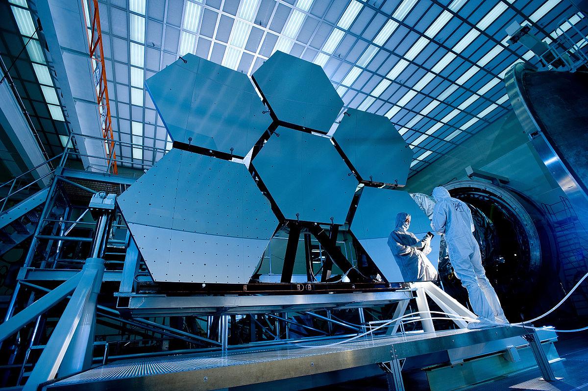 segmeted mirror telescope Jerry Nelson