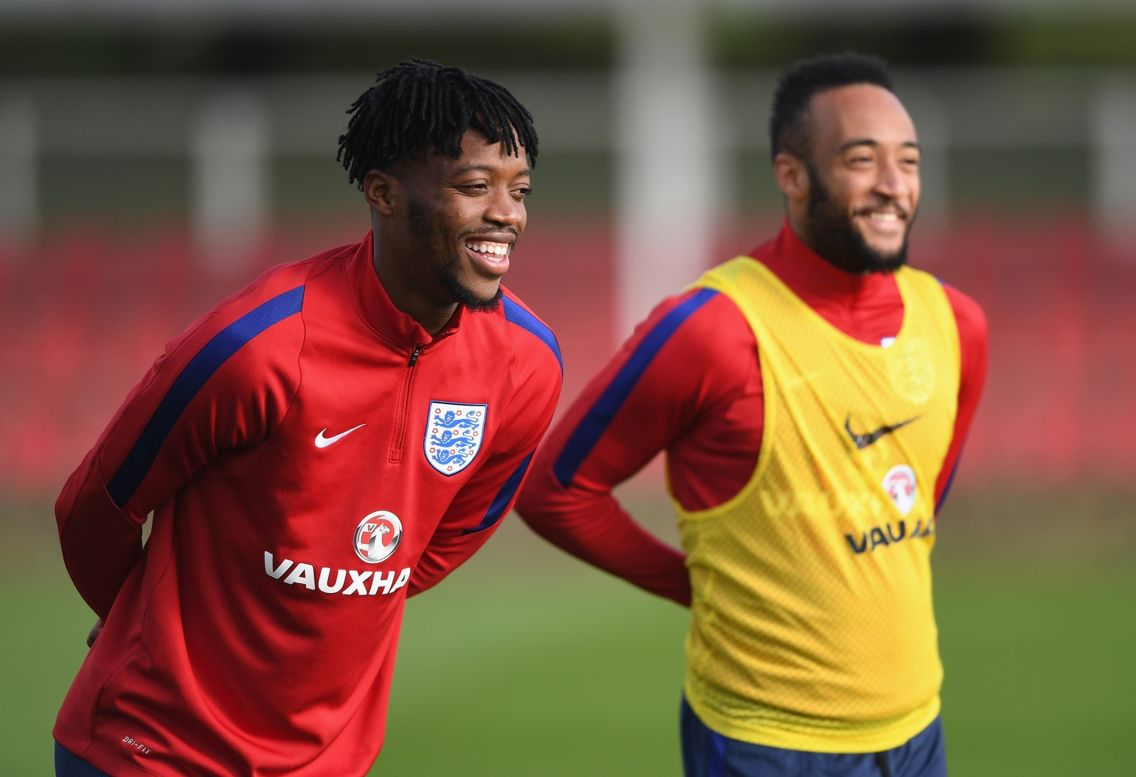 Nathaniel Chalobah and Nathan Redmond