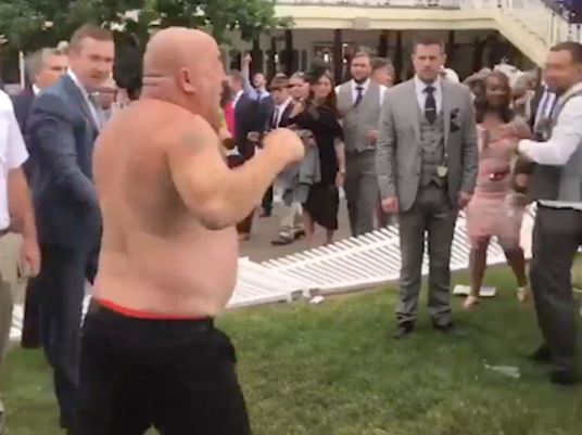Royal ascot fight brawl