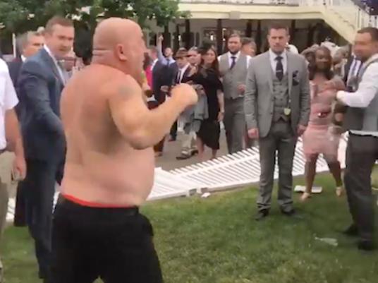 Royal ascot fight brawl