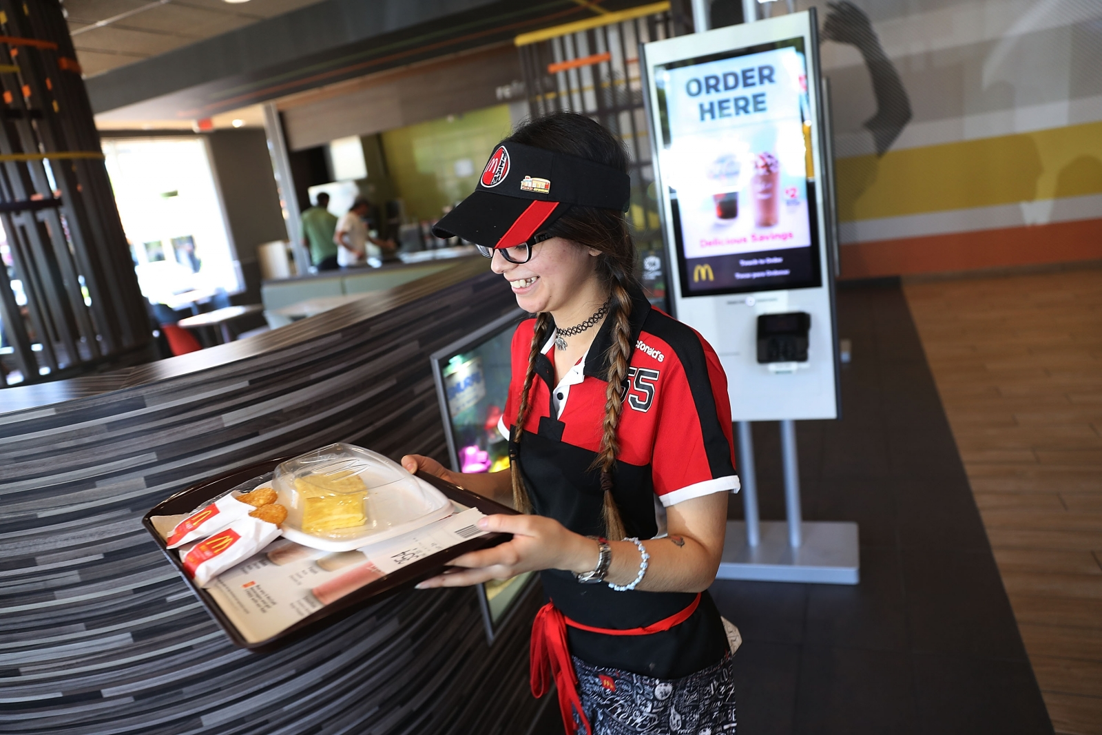 McDonald's robot workers share price