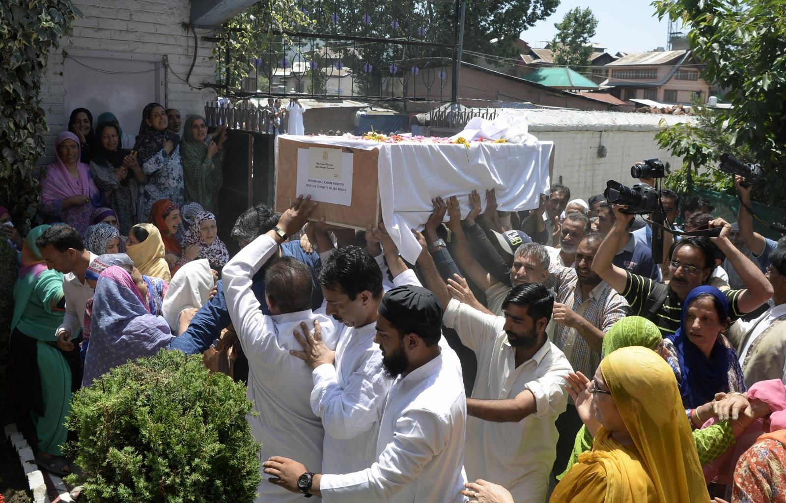 Mohammad Ayub Pandith lynched Kashmir