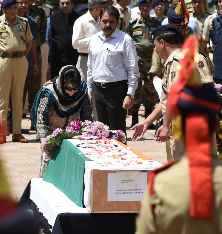 Chief Minister of Jammu and Kashmir state Mehbooba