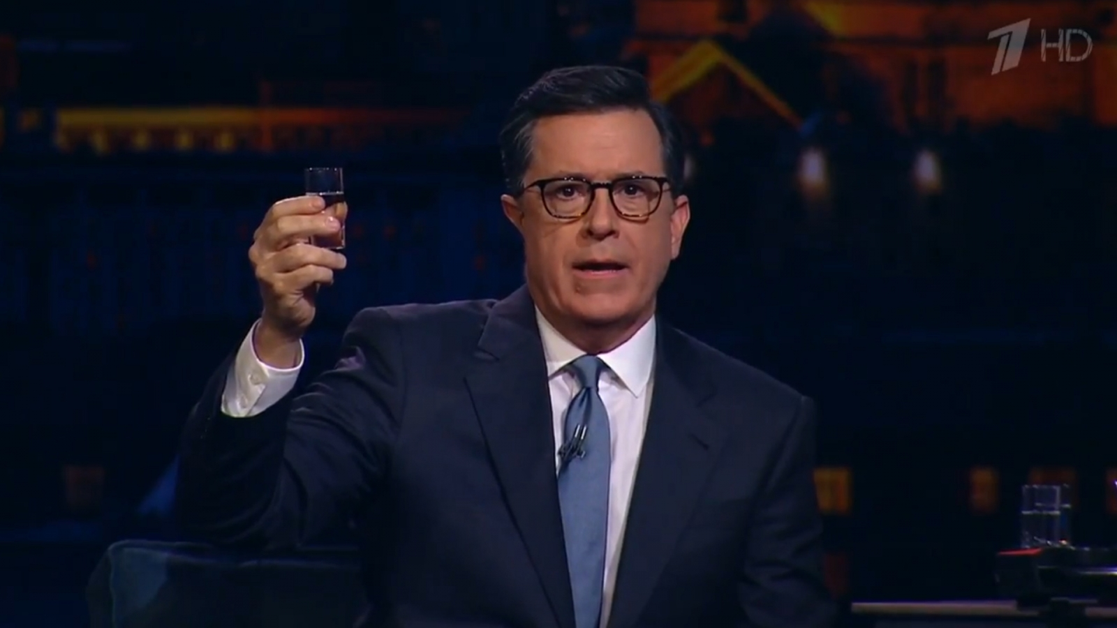 Stephen Colbert announces possible bid for presidency after shots on Russian TV