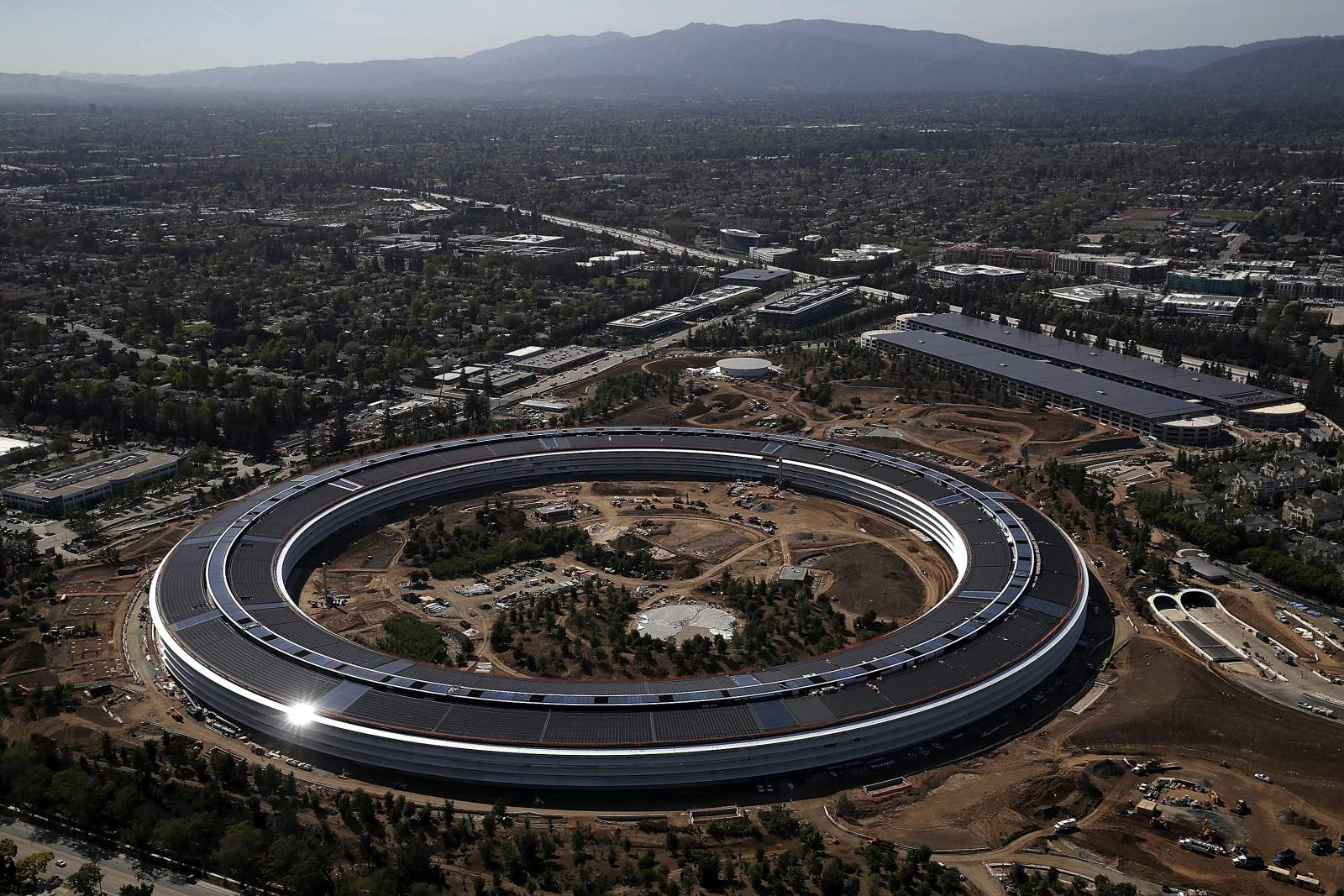New Apple Park Drone Footage Shows Off The Sprawling New