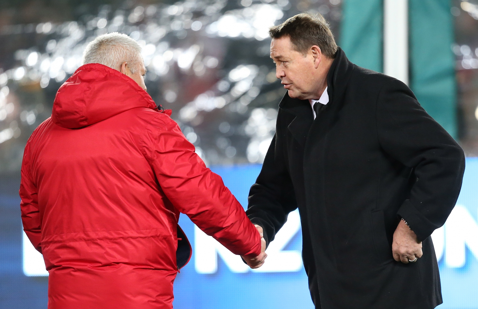 Warren Gatland and Steve Hansen