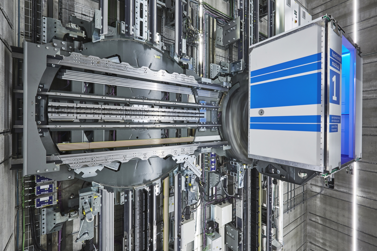 Multi maglev elevator