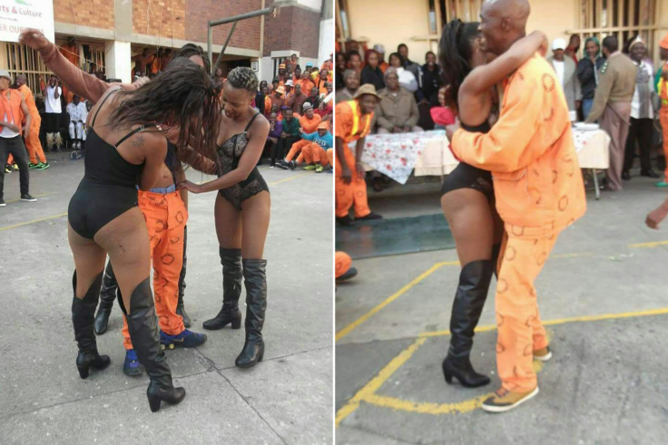 South Africa Sun City Prison Strippers
