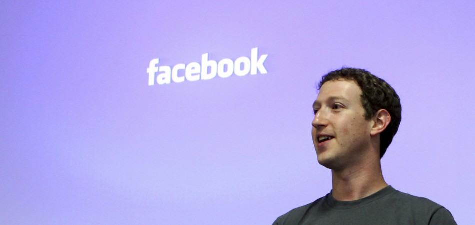 Facebook CEO Mark Zuckerberg speaks during a news conference at Facebook's headquarters in Palo Alto