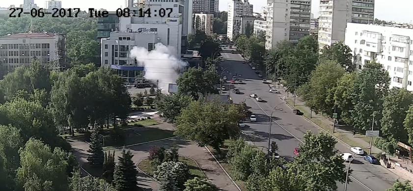 Kiev explosion