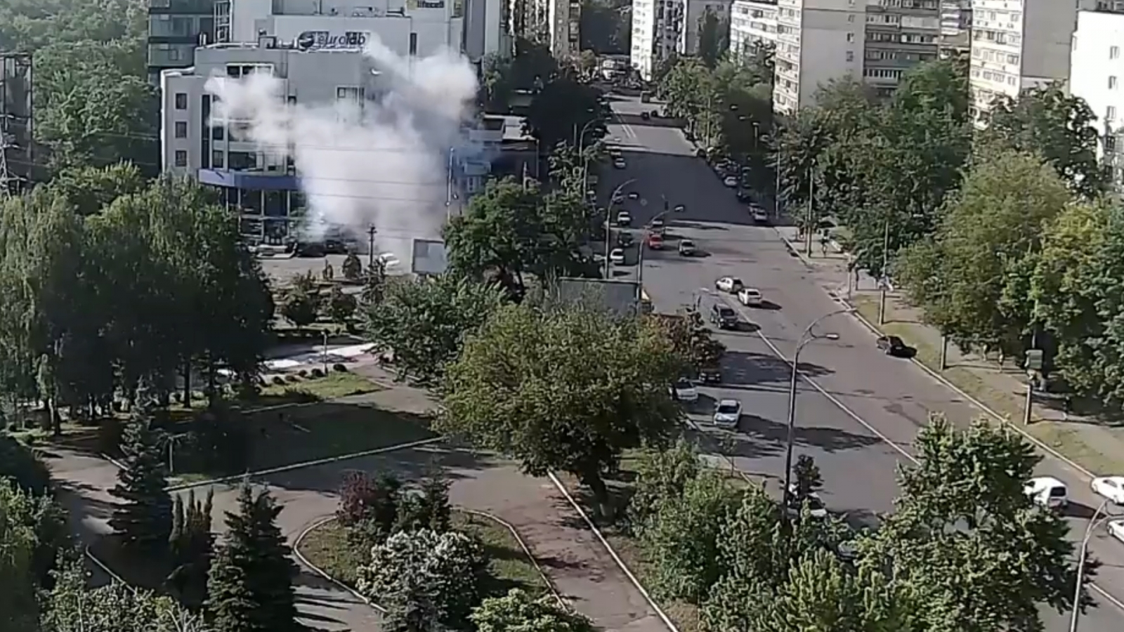 Car bomb kills Ukrainian military intelligence officer in Kiev