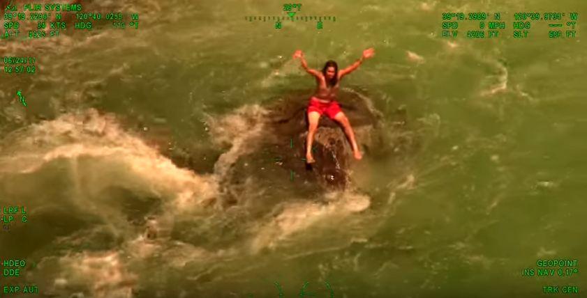 Miraculous rescue at Emerald Pools California
