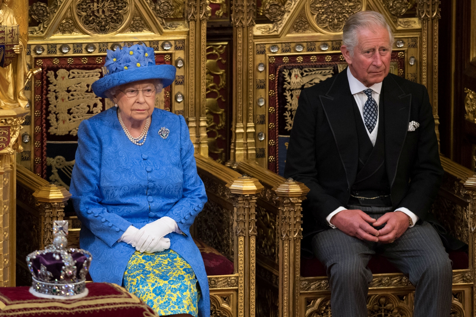 Prince Charles and the Queen