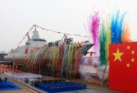 China home-built destroyer