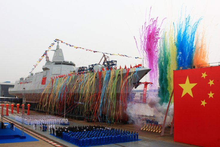 China home-built destroyer
