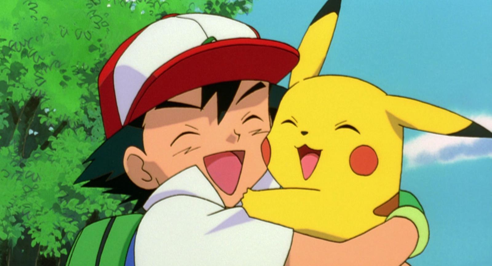 Pokemon animated series cartoon Ash Pikachu