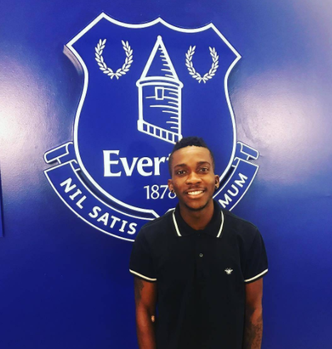 Henry Onyekuru completes Everton move
