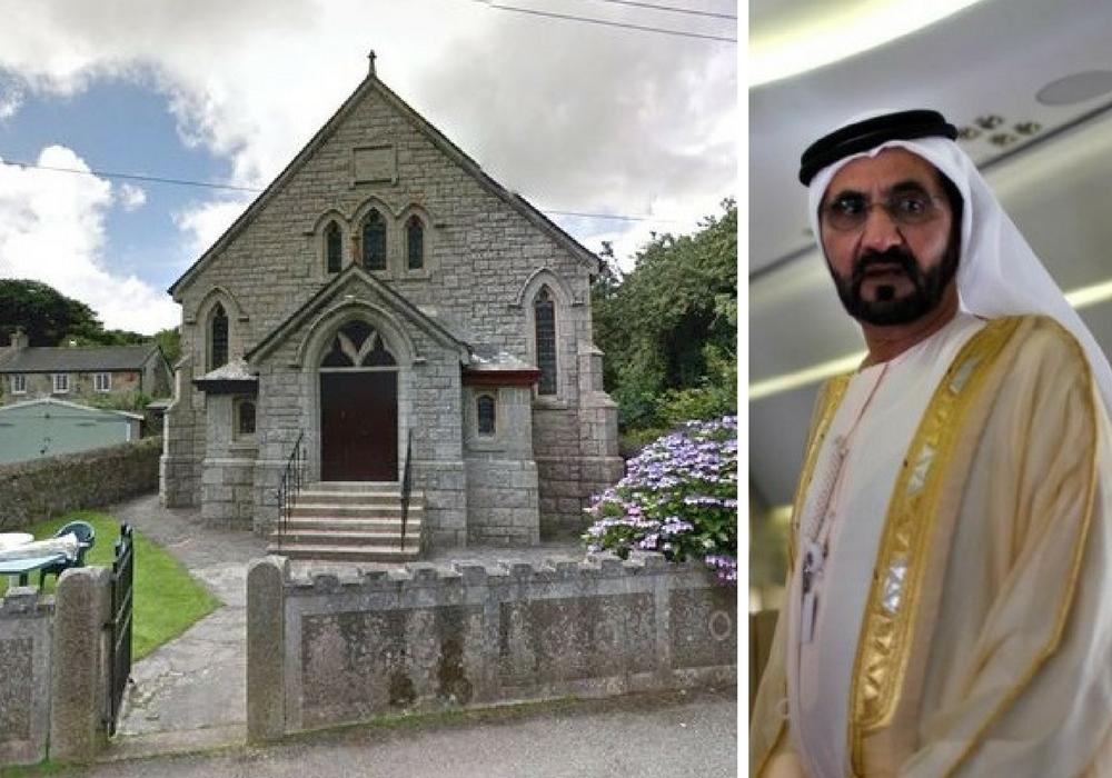 Dubai sheikh saves Cornish village chapel