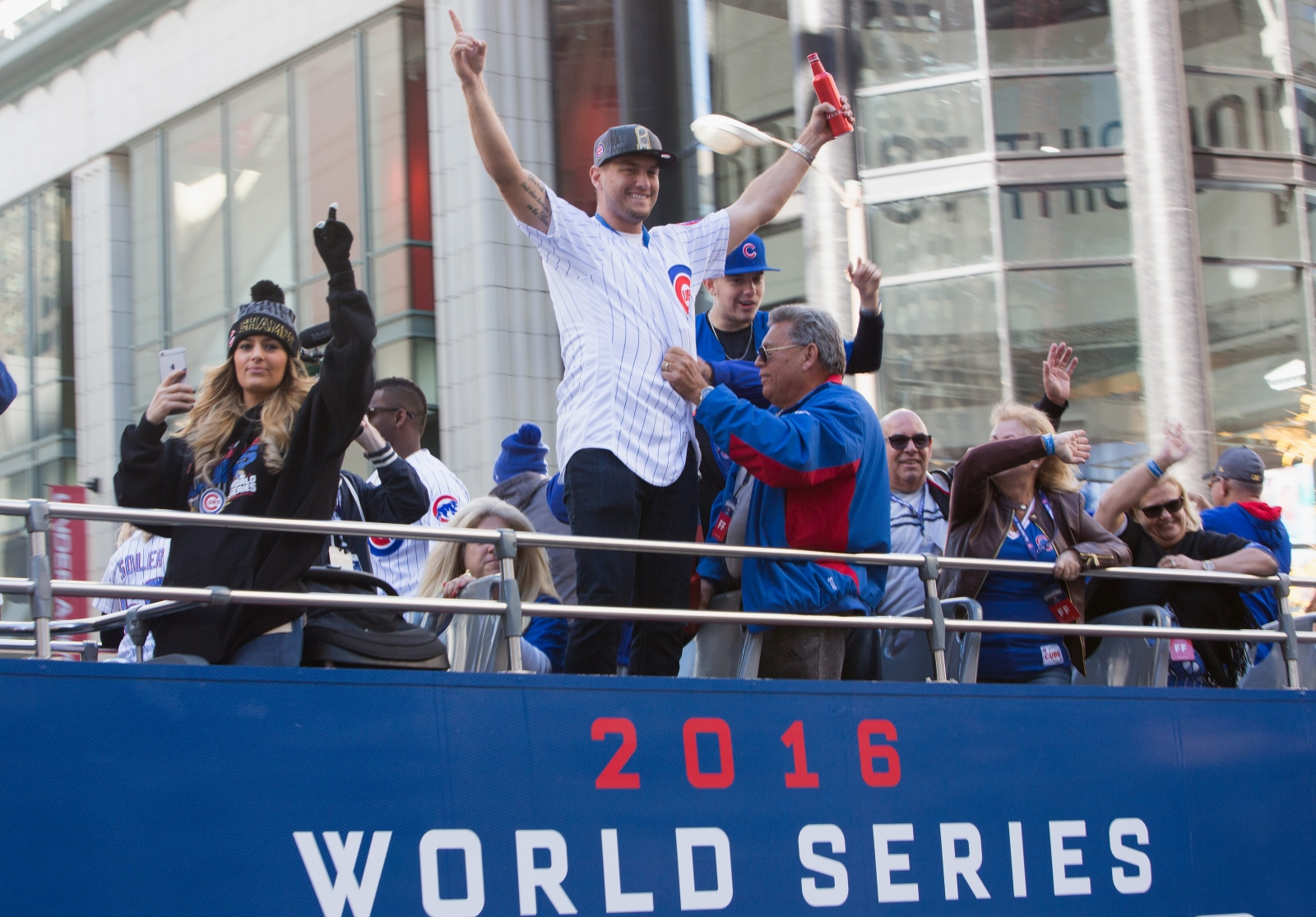Almora Chicago Cubs Victory Celebration