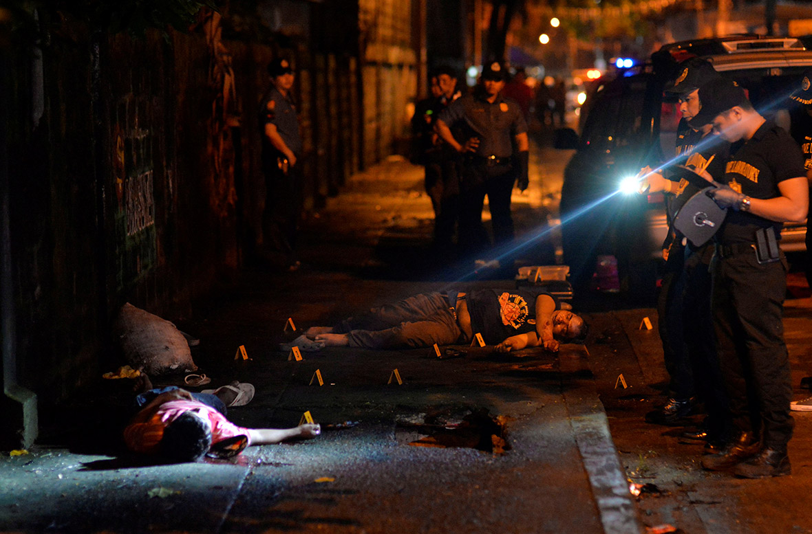 Philippines President Rodrigo Duterte war on drugs