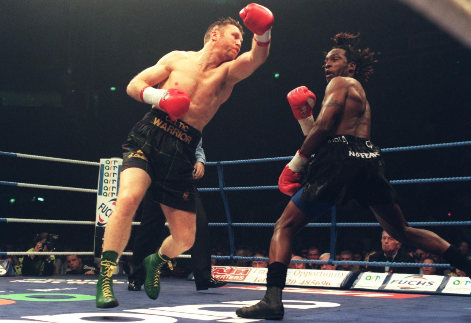Nigel Benn and Steve Collins set for rematch