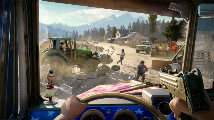 Far Cry 5 vehicles