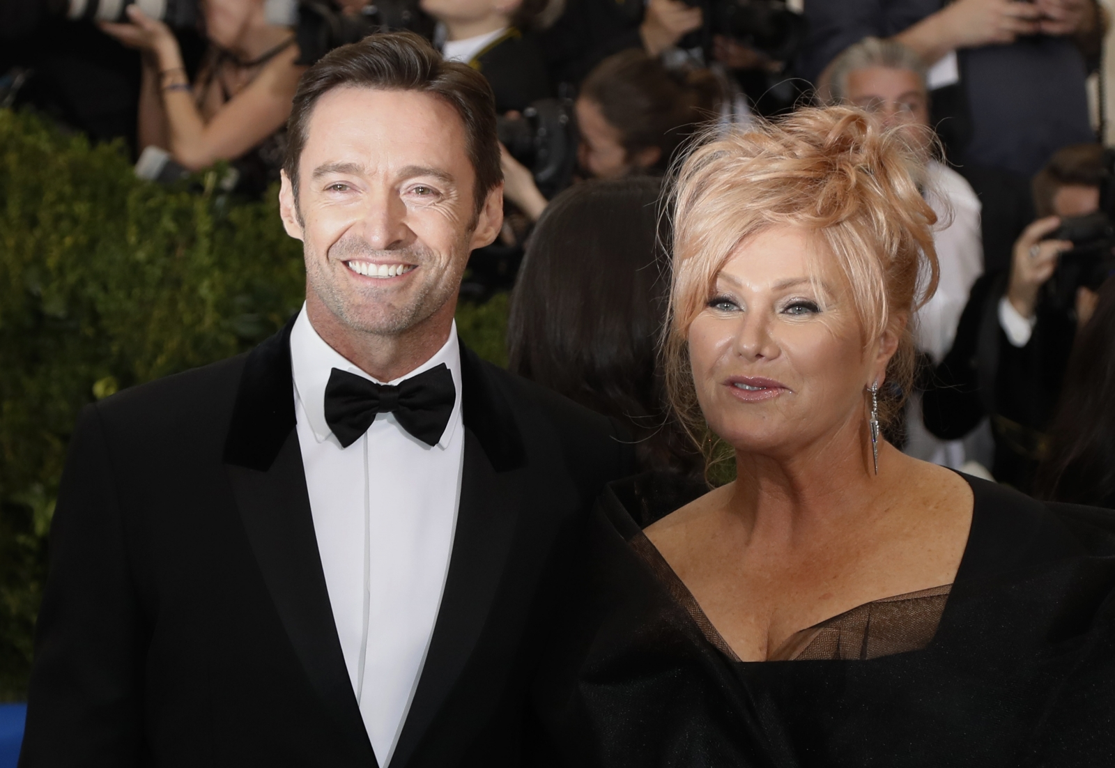 Hugh Jackman and Deborra Lee-Furness