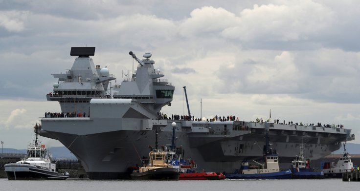 HMS Queen Elizabeth and Russia