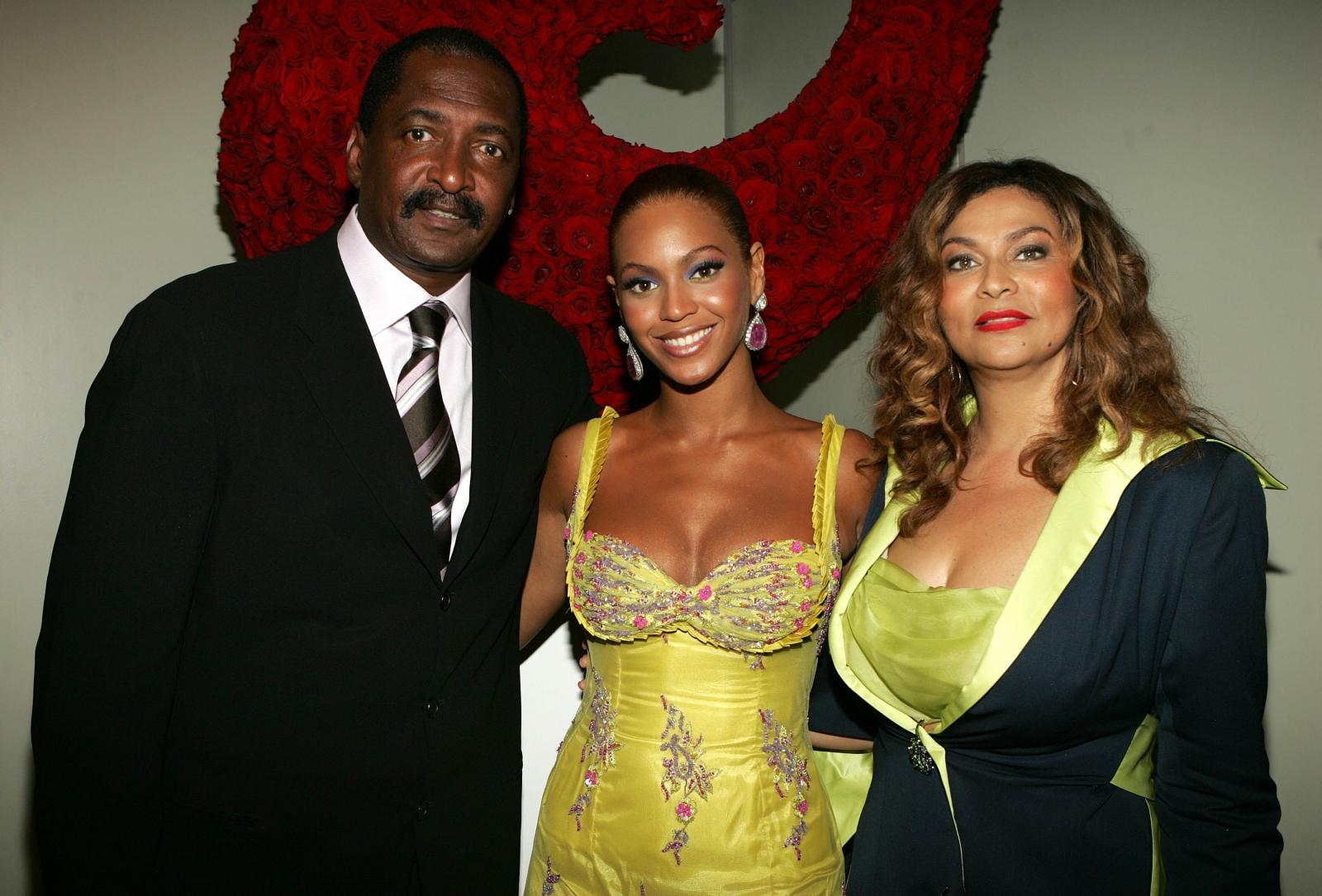 Beyonce and Tina Knowles