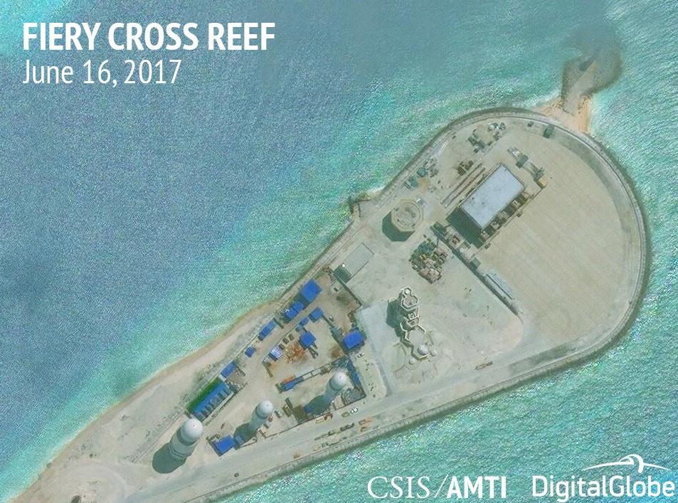 South China Sea militarisation