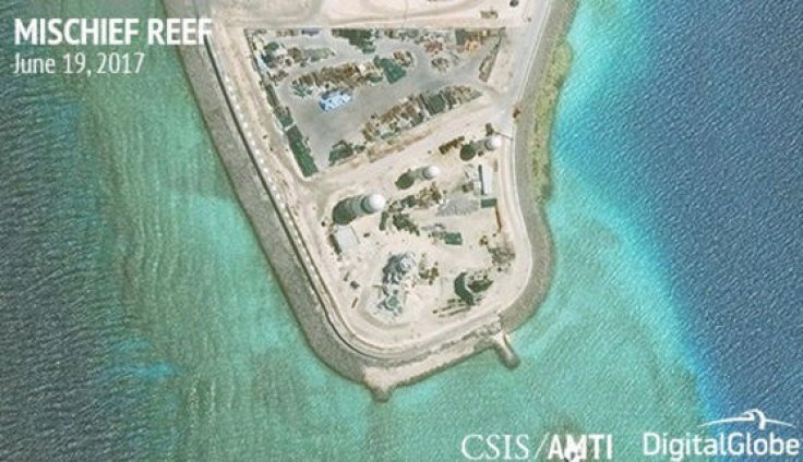 South China Sea militarisation