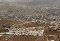 Arsal town on Syria-Lebanon border