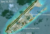 South Sea islands China Spratly