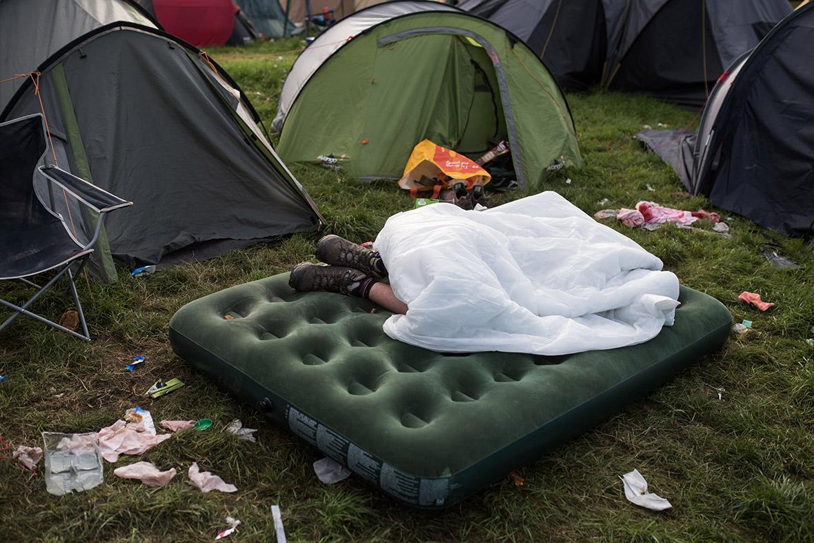 glastonbury tent