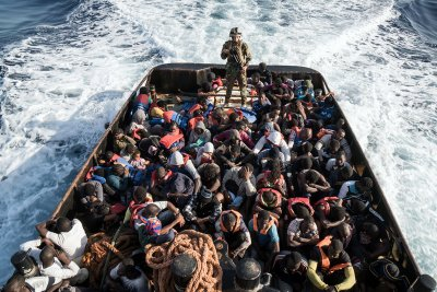 migrants libya rescued