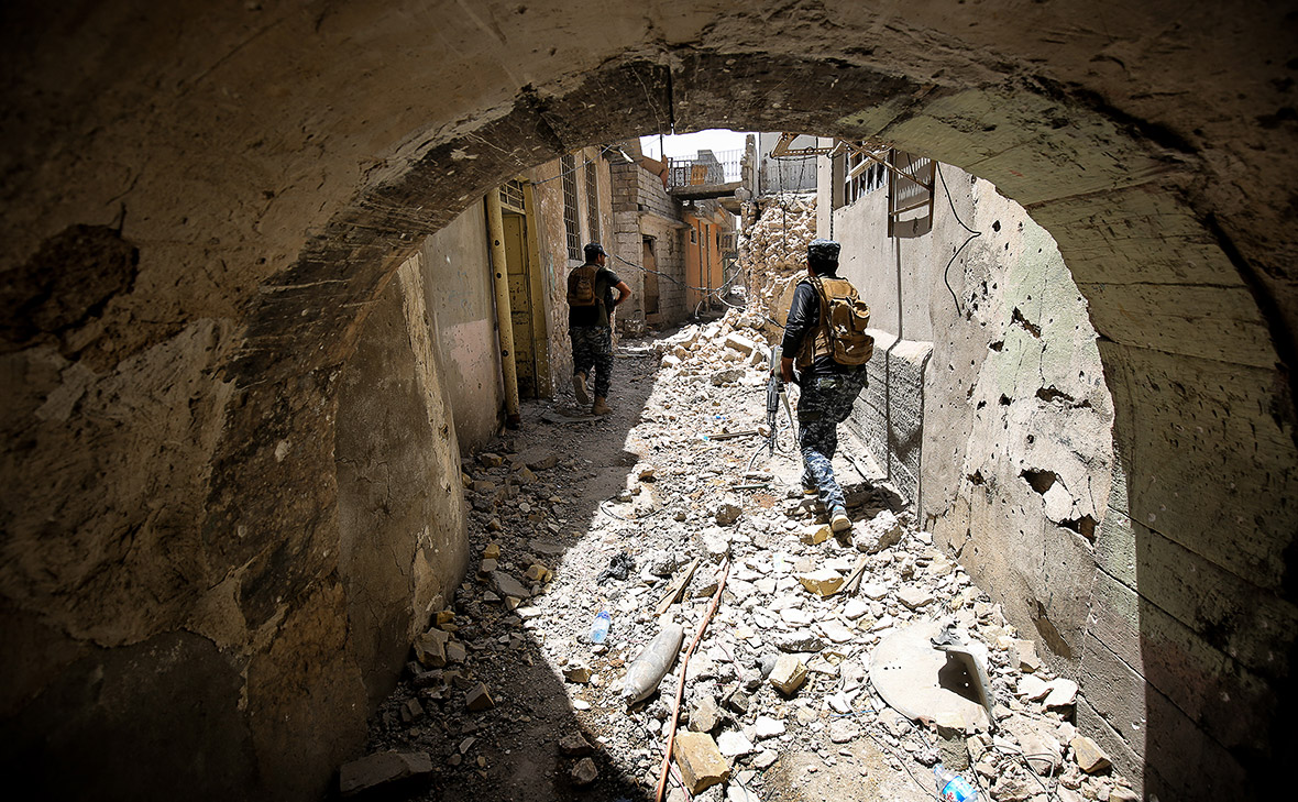 Old city of mosul Isis