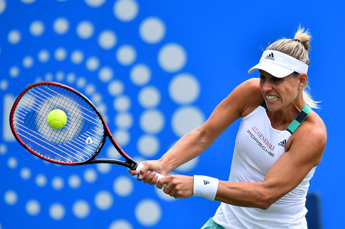 Angelique Kerber eastbourne