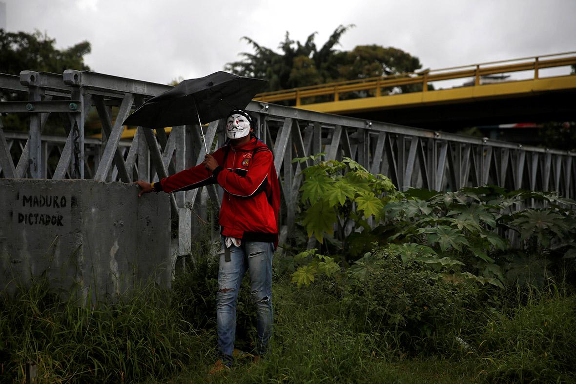 maduro protest caracas venezuela