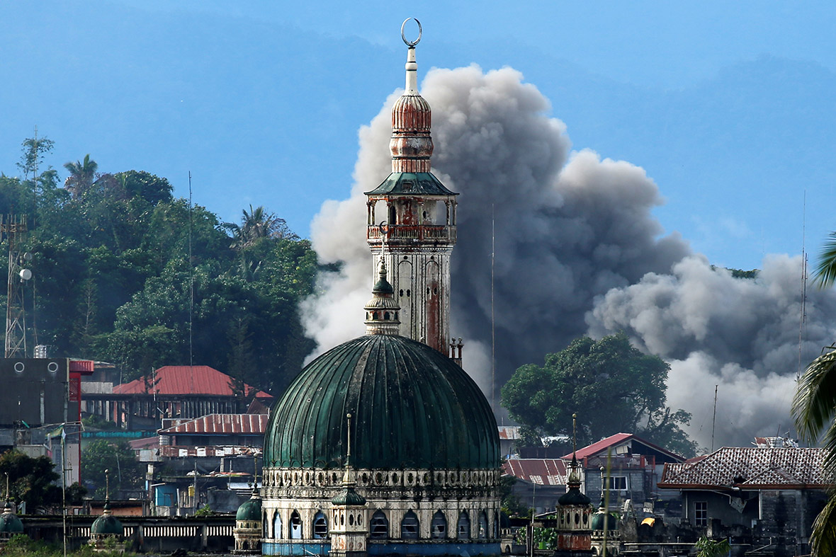 marawi air strike