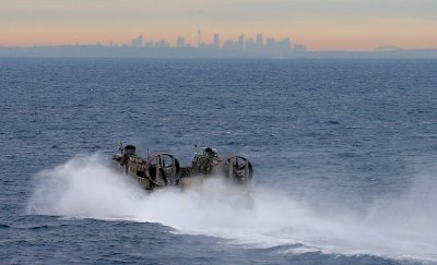 US Navy Landing Craft Air Cushion sydney