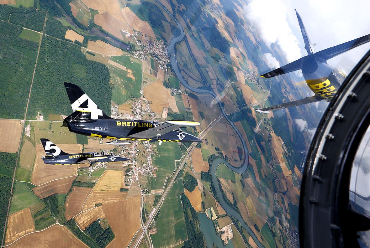 Sion Airshow in Switzerland