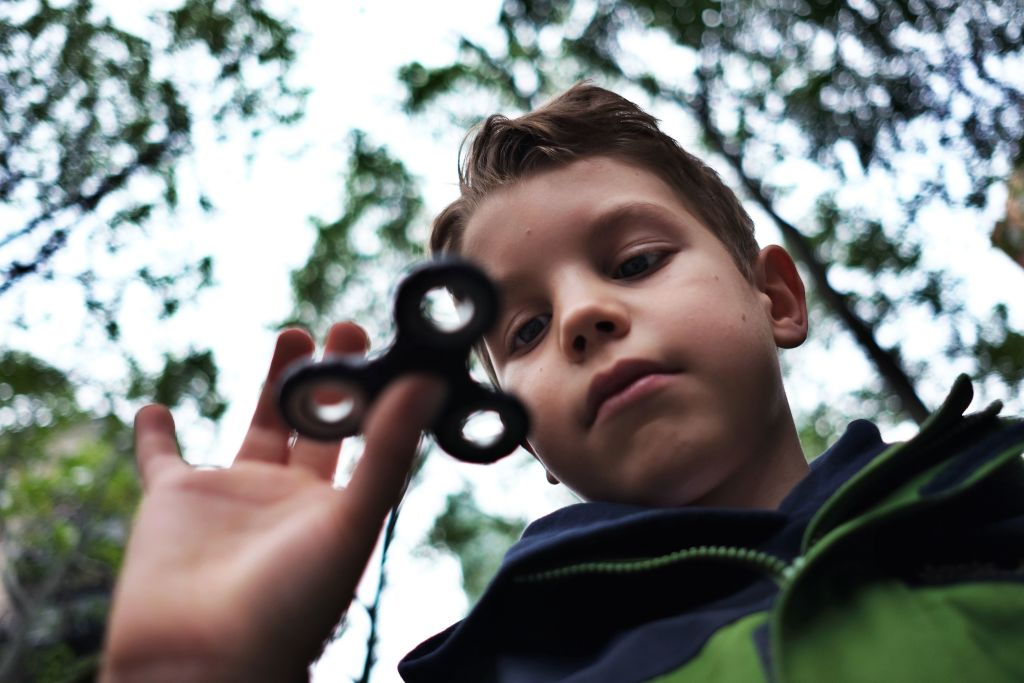 Fidget spinner child safety