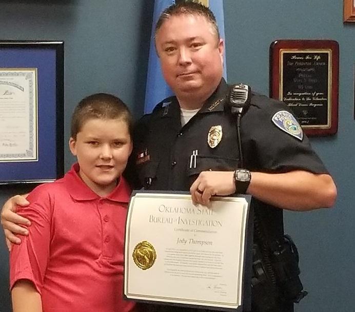 Patrolman Jody Thompson
