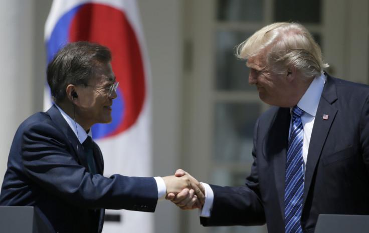 Donald Trump Moon Jae-in