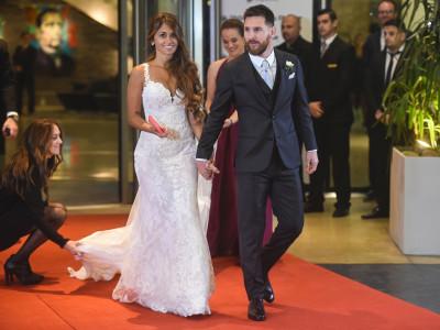 Messi-Roccuzzo wedding