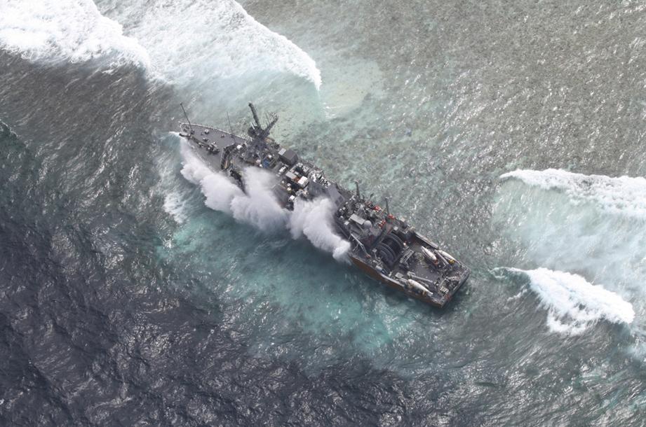 US naval vessel